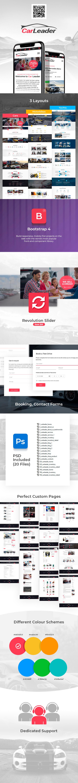CarLeader - Car Dealer HTML website template - 2